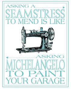 Sewing Room Printable Freebie