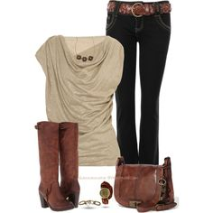 Ariat Boots by shannonmarie-94 on Polyvore