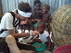 Feeding the poor in Haiti