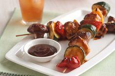 BBQ Grilled Chicken Kabobs recipe #BBQ #Barbeque #Grills #BBQRecipe #BBQAprons
