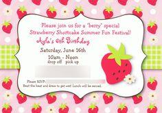 Berry Fun Strawberry Shortcake Party Ideas! @ Angela Fox