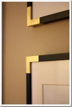 gold dipped framing