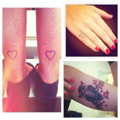 hurt, heart, fingers, finger tattoos, gifts, gift cards, a tattoo, pinki finger, owls