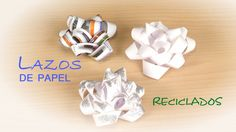 Lazo para Regalos de Papel Reciclado -- Facil y Gratis (+lista de reprod...