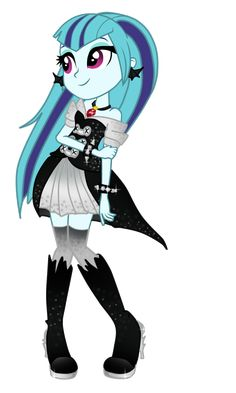 Sonata Dusk - HALLOWEEN SUIT by IriskaArt.deviantart.com on @DeviantART