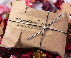 Cute brown paper bag packaging