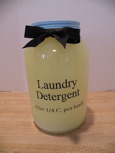 DIY Laundry Soap  - safe in HE