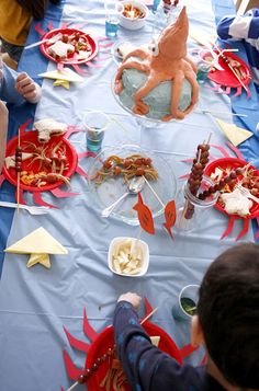under the sea bday party theme