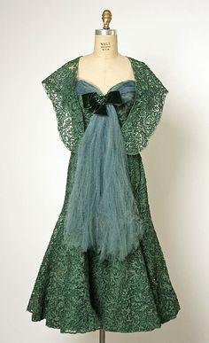 ~Cristobal Balenciaga for the House of Balenciaga 1955-1960~