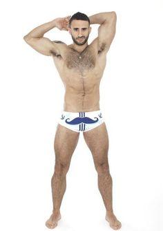 Eliad Cohen Wears Papa Wear #EliadCohen #hairy #PapaWear #underwear