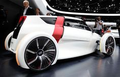 Audi concept car Urban is pictured during the press days at the Frankfurt Motor Show. concept car