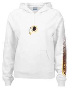 LADIES TRADITIONAL HOODED NFC REDSKINS SWEATSHIRT