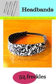Headband Patterns - Sew A Headband With Free Patterns