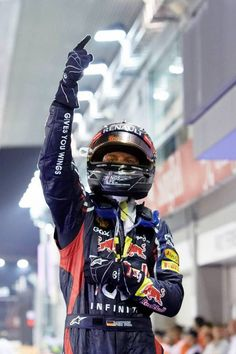 Sebastian Vettel wins GP Singapore 2012 #f1