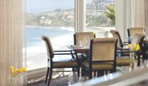 Ritz Carlton- Dana Point. Awesome location for brunch, perched on a cliff, overlooking the ocean.