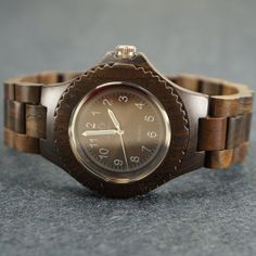 Wood Watch for Men  Unique Christmas by leatherwrapwatches on Etsy, $59.00