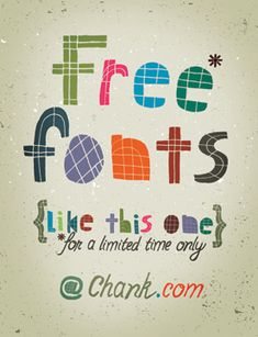 Free font (picture: Tim Degner / flickr)