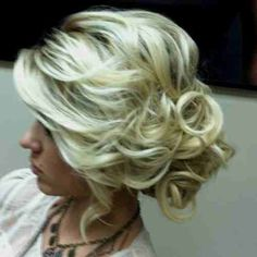 formal hair perfect for a special event!!