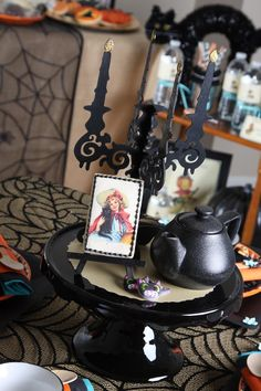 Vintage Halloween Party with Lots of REALLY CUTE IDEAS via Kara's Party Ideas | KarasPartyIdeas.com #HallowsEve #Party #Ideas #Supplies #halloweenparty