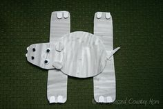 H Hippo Foam Craft