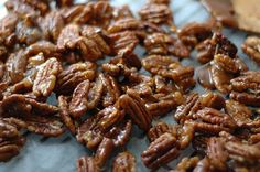 How to: candied nuts