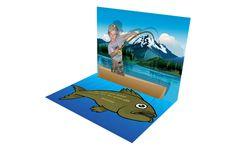 fishing themed party invitation idea