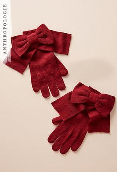 Bow-Tied Gloves | Sh