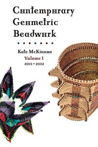 CONTEMPORARY GEOMETRIC BEADWORK | A groundbreaking new book in two volumes from Kate McKinnon and a worldwide team of beaders