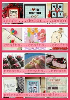 Love these great Valentine's Day ideas from Somewhat Simple!