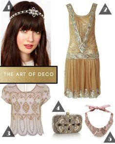 Gatsby 1920's Embellished Flapper Dress | Dresses & Skirts | Gumtree ...