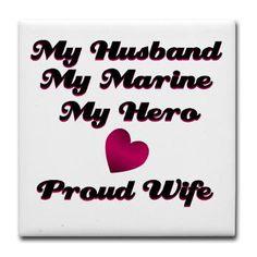 My Husband, My Marine.