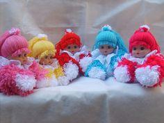 ARTESANATO FOFO: Passo a passo de boneca de lã