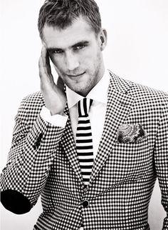 mens checkered suit #mens #fashion