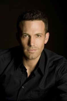 "Ben Affleck thinking, ""I'm ruggedly handsome"""