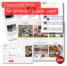 7 essential tricks for Pinterest power users