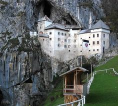 Predjama Castle, Slovenia. Photo by visitareslovenia.