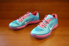 "Nike Lunar Hypergamer Low Rose Classic PE ""Green Abyss"""