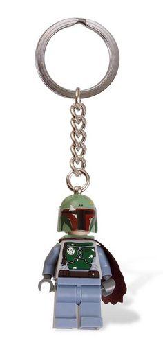 LEGO Boba Fett Keychain
