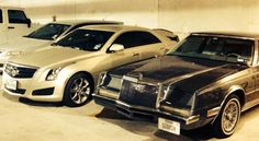 My 2 babies.  1982 Imperial, 2014 ATS