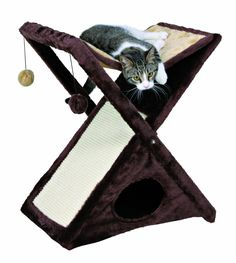 15 Cool Pieces of Cat Furniture | Babble#sebastian-modern-cat-tree-white Products Miguel, Trixie Pets, Cat Furniture, Cat Towers, Stores Cat, Pets Supplies, Miguel Folding, Cat Stuff, Pets Products