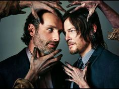 Norman Reedus & Andrew Lincoln!
