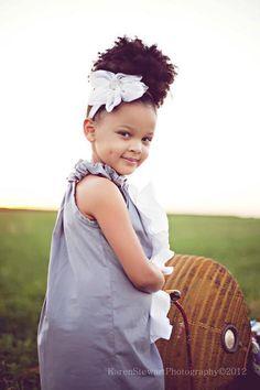 Cute natural kid!