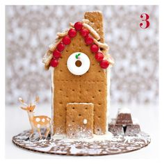 graham cracker house idea for #familyadvent !