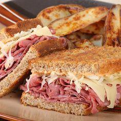A good hearty sandwich.. Reuben Sandwich Recipe Recipe from Grandmothers Kitchen.