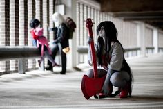 Perfect Marceline Cosplay