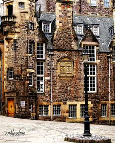 The Writers Museum, just off the Royal Mile, Edinburgh.