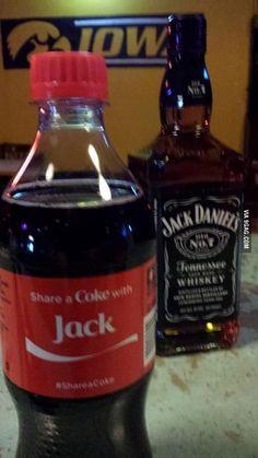 I like the way you think, Coke.