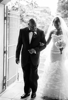 Brides: Can Both My Father and Stepfather Walk Me Down the Aisle? traditional weddings, walks, dream, brides, daughter, father walk, stepfath walk, fathers, summer weddings