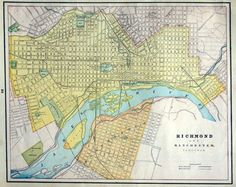 1899 | Richmond map