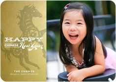 Gilded Occasion - Chinese New Year Cards - Stacey Day for Tiny Prints. #NewYears